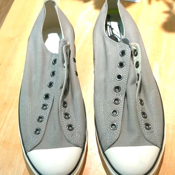 Mint John Varvatos Converse Gray Size 12